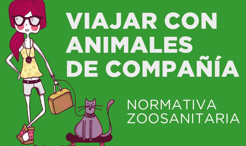 Recomendaciones para viajar con mascotas (perros, gatos o hurones) de manera segura.